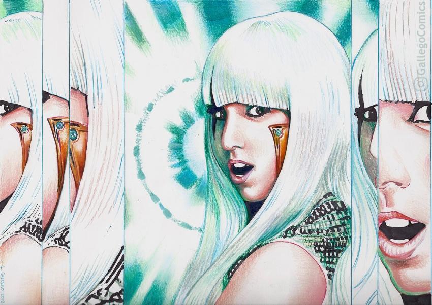 Lady Gaga by GallegoComics